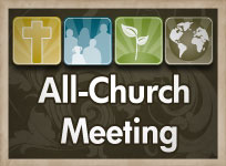 All-Church Meeting - Congregational Voters Meeting