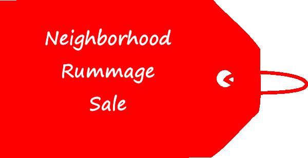 Good Shepherd's Lutheran - Neighborhood Rummage Sale